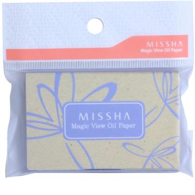 Missha Accessories Mattierende Papiere