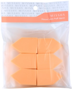 Missha Accessories Make-Up Schwamm 6 Stück