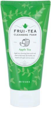 Missha Frui-Tea Apple nežna čistilna pena