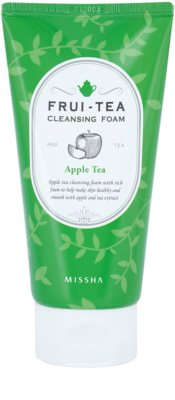 Missha Frui-Tea Apple нежна почистваща пяна