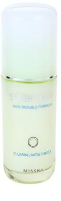 Missha Super Aqua Anti-Trouble Formula hidratáló emulzió a problémás bőrre