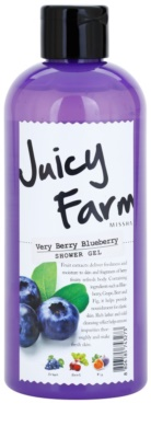 Missha Juicy Farm Very Berry Blueberry gel de dus