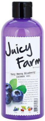 Missha Juicy Farm Very Berry Blueberry żel pod prysznic