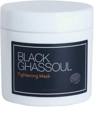 Missha Black Ghassoul máscara de limpeza para pele acneica