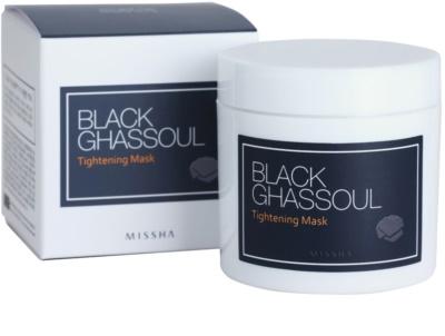 Missha Black Ghassoul máscara lifting  que fecha os poros 3