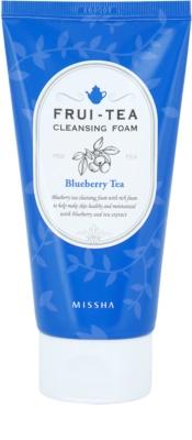 Missha Frui-Tea Blueberry espuma de limpeza hidratante espuma de limpeza hidratante