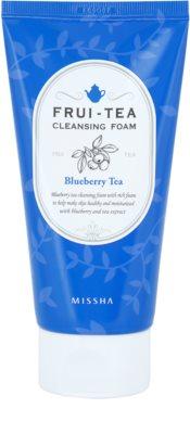 Missha Frui-Tea Blueberry hidratáló tisztító hab
