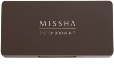 Missha 3 - Step Brow Kit Augenbrauen-Set 1