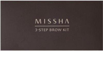 Missha 3 - Step Brow Kit Augenbrauen-Set 2