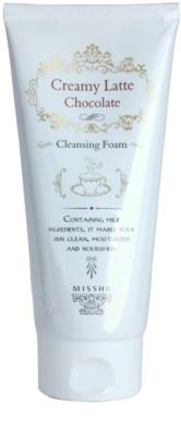 Missha Creamy Latte čisticí pěna s hydratačním účinkem
