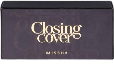 Missha Closing Cover estuche de correctores con espejo y aplicador 2