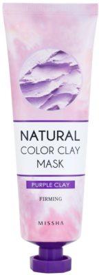 Missha Natural Color Clay masca din argila braziliana pentru fermitatea pielii