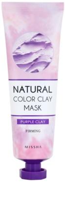 Missha Natural Color Clay maska s brazilským jílem pro zpevnění pleti