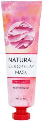 Missha Natural Color Clay masca din argila braziliana cu efect de hidratare