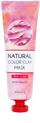 Missha Natural Color Clay maska z brazilsko glino z vlažilnim učinkom