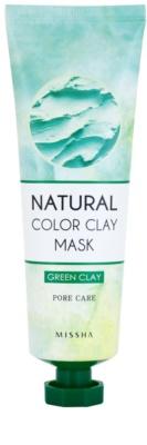 Missha Natural Color Clay masca din argila braziliana pentru pori dilatati