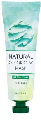 Missha Natural Color Clay maska z brazilsko glino za razširjene pore