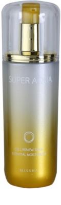 Missha Super Aqua Cell Renew Snail esencja nawilżająca przeciw zmarszczkom i plamom pigmentacyjnym