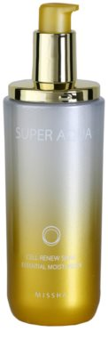 Missha Super Aqua Cell Renew Snail hydratační esence proti vráskám a tmavým skvrnám 1