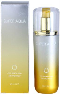 Missha Super Aqua Cell Renew Snail подхранваща емулсия с екстракт от охлюви 2
