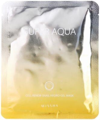 Missha Super Aqua Cell Renew Snail hidratáló maszk csiga kivonattal