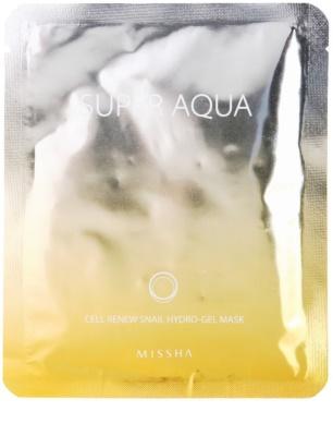 Missha Super Aqua Cell Renew Snail máscara hidratante com extrato de caracol