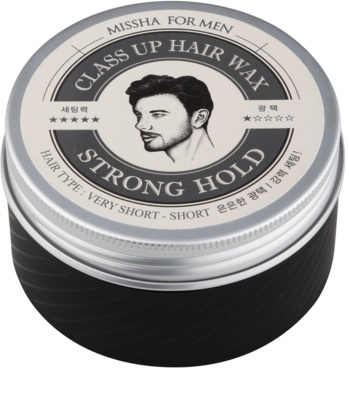 Missha For Men Class Up Hair Wax vosk na vlasy se silnou fixací