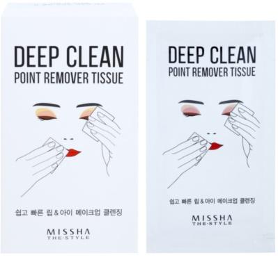 Missha The Style Deep Clean hartii matifiante 1