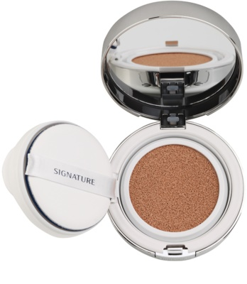 Missha Signature Essence Cushion aufhellendes flüssiges Make up im Schwämmchen SPF 50+