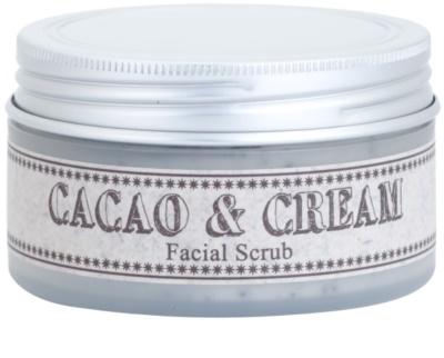 Missha Facial Scrub Cacao és krém arcradír