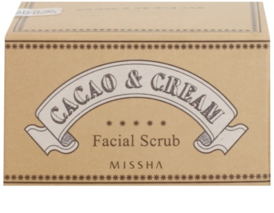 Missha Facial Scrub piling za obraz s kakavom 3