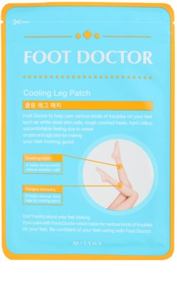 Missha Foot Doctor chladivé gelové náplasti na nohy proti únavě a otokům