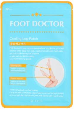 Missha Foot Doctor compresas frías de gel para las piernas cansadas e hinchadas