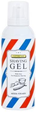 Missha For Men gel de barbear para homens