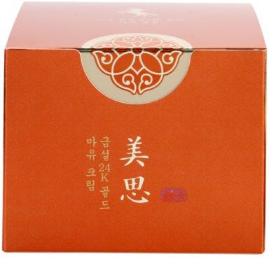 Missha MISA Geum Sul 24K Gold tápláló hidratáló krém ránctalanító hatással 3