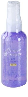 Missha Ginger & Vinegar deodorant ve spreji na nohy