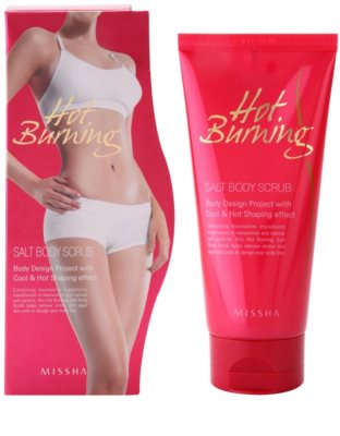Missha Hot Burning testpeeling sóval 2