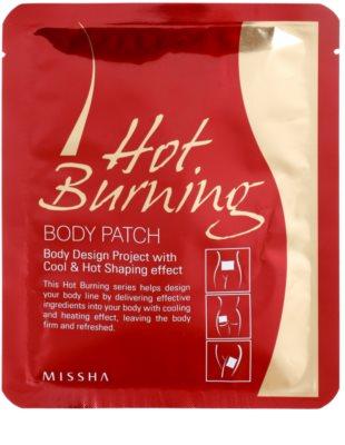Missha Hot Burning Adesivos modeladores anticelulite