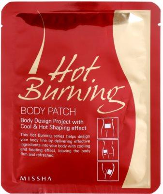 Missha Hot Burning tvarovací náplasti proti celulitidě