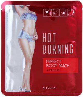 Missha Hot Burning oblikovalni obliži proti celulitu 1