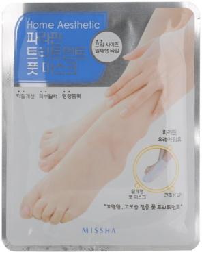 Missha Home Aesthetic парафінова маска для ніг
