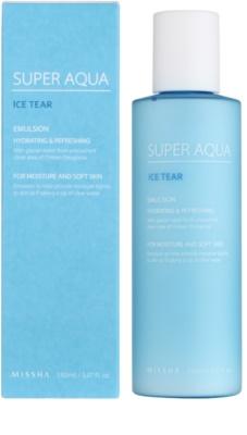 Missha Super Aqua Ice Tear feuchtigkeitsspendende Emulsion für das Gesicht 1
