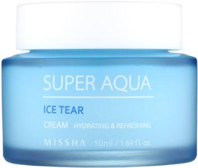 Missha Super Aqua Ice Tear nawilżający krem do twarzy