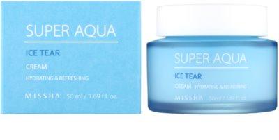 Missha Super Aqua Ice Tear feuchtigkeitsspendende Gesichtscreme 1