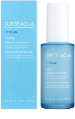 Missha Super Aqua Ice Tear visoko vlažilna esenca za obraz 1