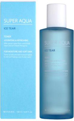 Missha Super Aqua Ice Tear hydratační pleťové tonikum 1