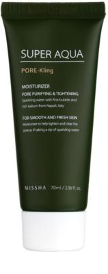Missha Super Aqua Pore - Kling vlažilna emulzija za obraz za razširjene pore