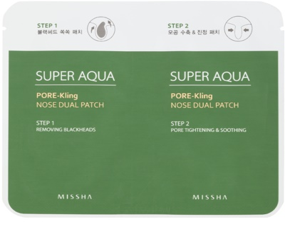 Missha Super Aqua Pore - Kling nega proti razširjenim poram in črnim pikicam