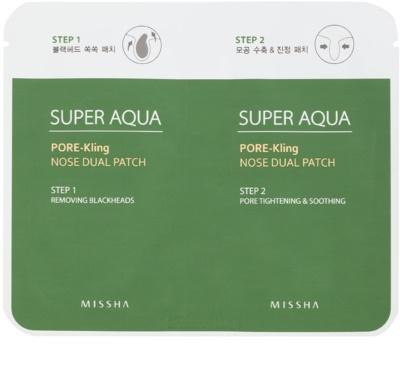 Missha Super Aqua Pore - Kling péče na rozšířené póry a černé tečky