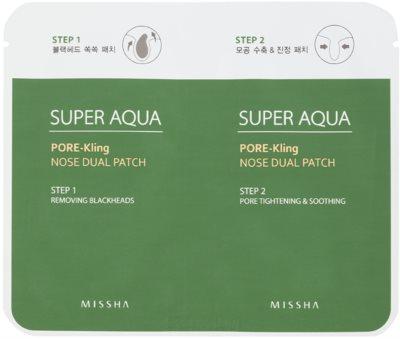 Missha Super Aqua Pore - Kling pielęgnacja na rozszerzone pory i zaskórniki